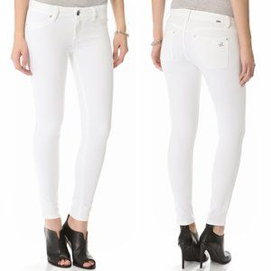 DL1961 White Denim Emma Skinny Legging Jeans
